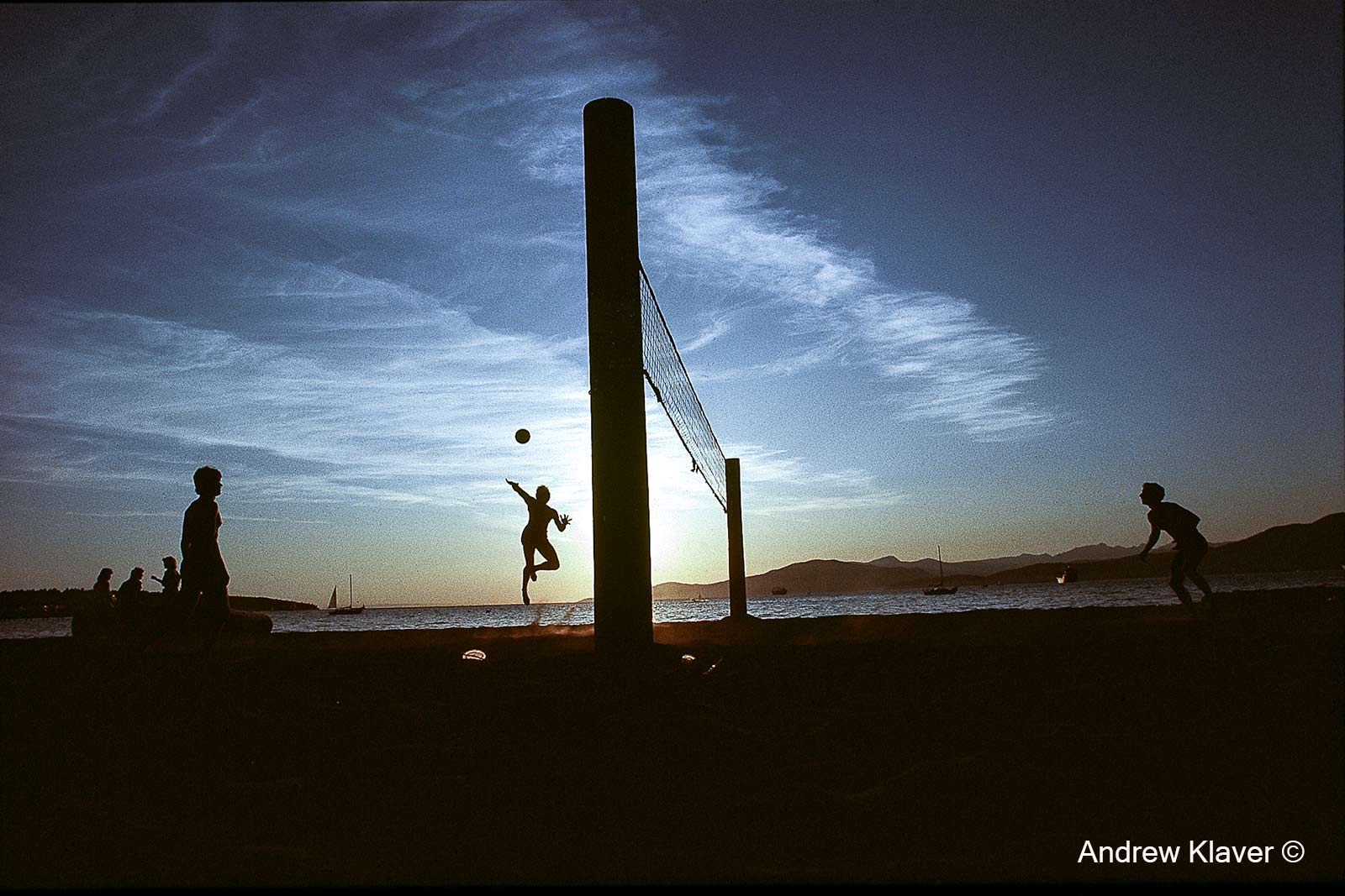 Volleyball English bay style, 1993