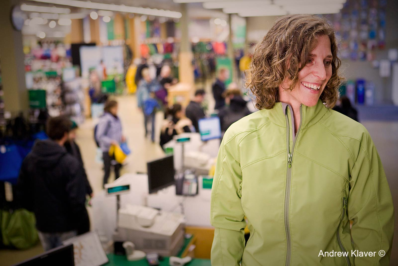 Vancouver mountain equipment Co-op store manager