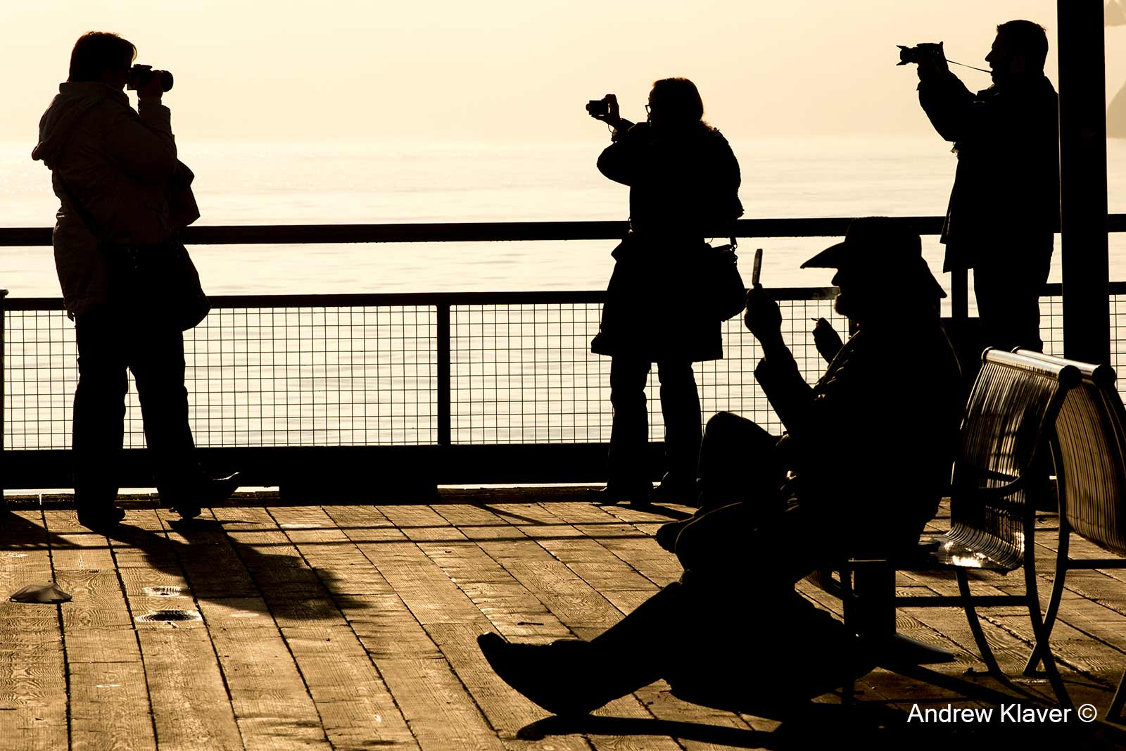 Silhouettes at the Quay