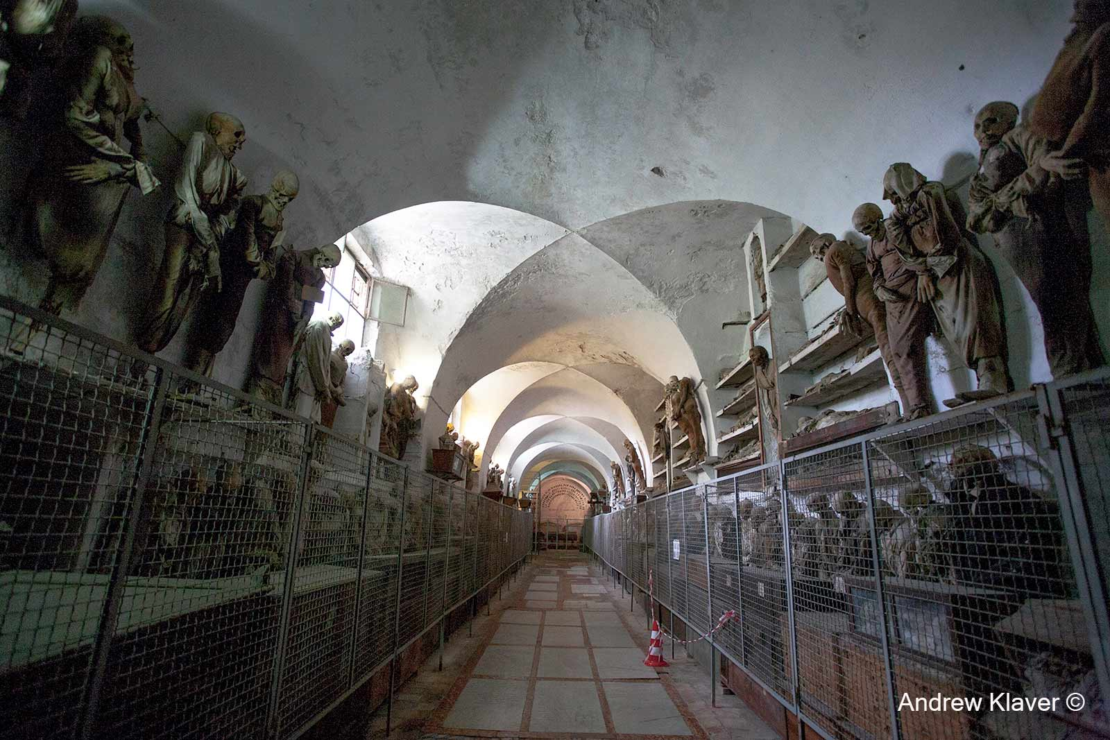Crypt in Palermo, Italy