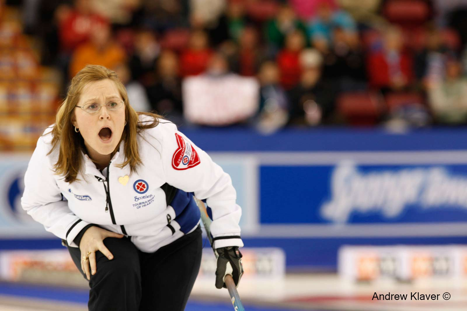 Kelley Scott at the 2010 Scotties Tournament of Hearts
